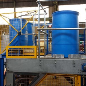automatic drum reconditioning system