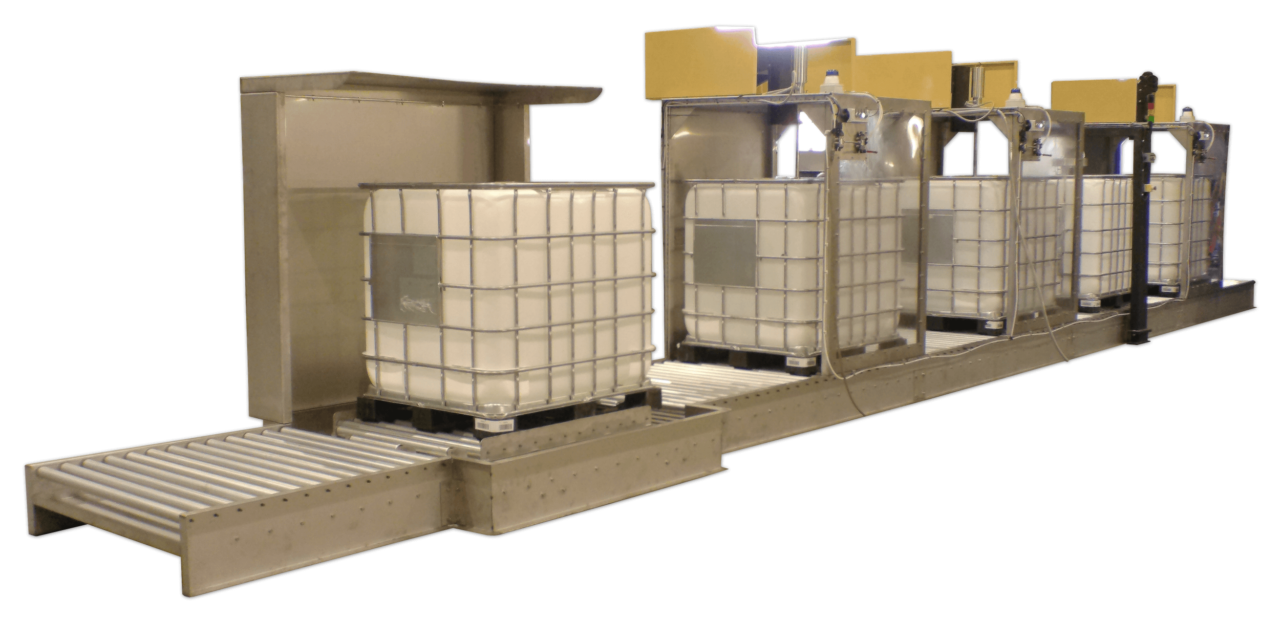 Continuous IBC Washers | Drum & IBC Washing | Rotajet Systems