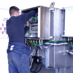 electrician atex drum washer