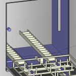 Container washer 3D Drawing