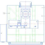 drum washer D60 drawing